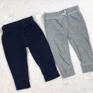 Navy and Gray Joggers